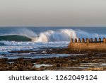 Perfect Wave Breaking Off The...