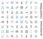 human icons set. collection of... | Shutterstock .eps vector #1262070064
