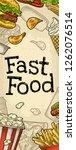 restaurant or cafe menu fast...