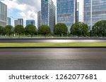 panoramic skyline and modern... | Shutterstock . vector #1262077681