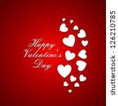 valentine's day | Shutterstock .eps vector #126210785