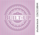 built up pink emblem | Shutterstock .eps vector #1262118844