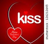 valentine's day | Shutterstock .eps vector #126212645