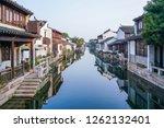 view of dangkou ancient town, wuxi, jiangsu, China