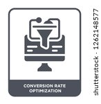 conversion rate optimization... | Shutterstock .eps vector #1262148577