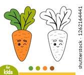 coloring book for children ... | Shutterstock .eps vector #1262164441