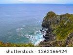 rocky sea shore | Shutterstock . vector #1262166424