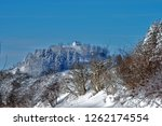 winter landscape  swabian alb ...   Shutterstock . vector #1262174554