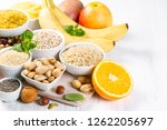 selection of good carbohydrates ... | Shutterstock . vector #1262205697