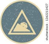 vector dangerous descent icon... | Shutterstock .eps vector #1262211427