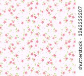 cute floral pattern in the... | Shutterstock .eps vector #1262233207