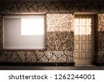 Mosaic Facade  With Door And...