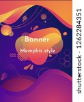 abstract fluid creative... | Shutterstock .eps vector #1262284351