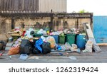 stack of different types of... | Shutterstock . vector #1262319424