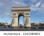 paris  france  october 27  2012 ... | Shutterstock . vector #1262380801
