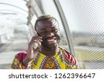 african businessman with... | Shutterstock . vector #1262396647