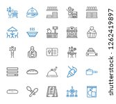 cook icons set. collection of... | Shutterstock .eps vector #1262419897