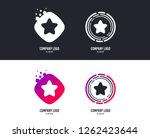 logotype concept. star sign...