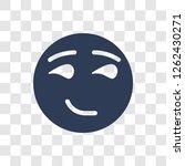 proud emoji icon. trendy proud... | Shutterstock .eps vector #1262430271
