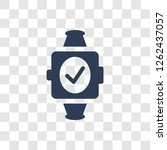 activity tracker icon. trendy... | Shutterstock .eps vector #1262437057