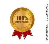 vector money back guarantee... | Shutterstock .eps vector #1262450917