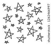 modern geometric star pattern.... | Shutterstock .eps vector #1262466997