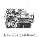 the rocket carrier s 400....   Shutterstock .eps vector #1262467621