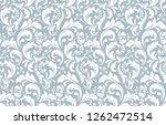 flower pattern. seamless white...   Shutterstock .eps vector #1262472514