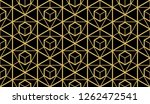 the geometric pattern with... | Shutterstock .eps vector #1262472541