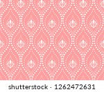 flower geometric pattern.... | Shutterstock .eps vector #1262472631