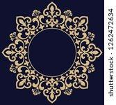 decorative frame elegant vector ... | Shutterstock .eps vector #1262472634