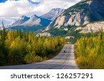Scenic Road Through Jasper...