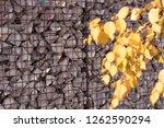 texture welded gabions | Shutterstock . vector #1262590294