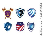shield logo icon | Shutterstock .eps vector #1262595544