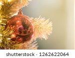 christmas ornament ball... | Shutterstock . vector #1262622064