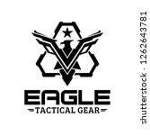eagle tactical triangle gear... | Shutterstock .eps vector #1262643781