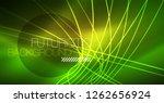 neon glowing magic background ... | Shutterstock .eps vector #1262656924