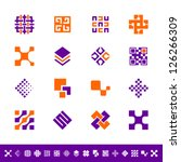 abstract design icons