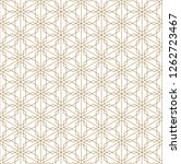 japanese seamless kumiko... | Shutterstock .eps vector #1262723467