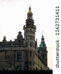 rosenborg castle in central... | Shutterstock . vector #1262731411