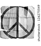 peace symbol | Shutterstock . vector #126275549