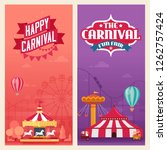 vector illustration of banners... | Shutterstock .eps vector #1262757424