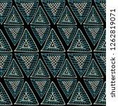 seamless ethnic pattern of...   Shutterstock .eps vector #1262819071