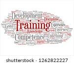 vector concept or conceptual... | Shutterstock .eps vector #1262822227