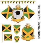 Set Of Jamaica Football...