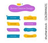 button creative set. navigation ... | Shutterstock .eps vector #1262844631