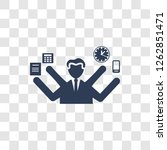 multitask icon. trendy... | Shutterstock .eps vector #1262851471