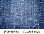 denim jeans texture. denim... | Shutterstock . vector #1262955421