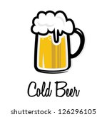 cold beer icon