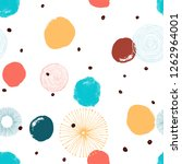 abstract circle seamless...   Shutterstock .eps vector #1262964001